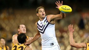 Aaron Sandilands had offered to retire so Fremantle could make a mid-season rookie draft selection.