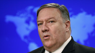 US Secretary of State Mike Pompeo.