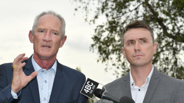 One Nation officials Steve Dickson and James Ashby said they were drunk when they discussed the donations.