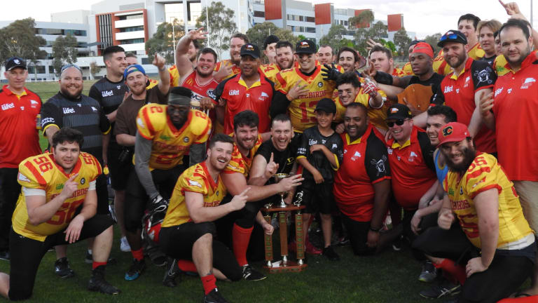 The University of Canberra Firebirds have clinched yet another Gridiron ACT Capital Bowl.