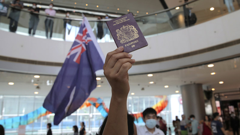 UK may ask Australia to give residency to fleeing British Hong Kong residents