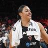 Cambage mocks Mystics after keeping Aces' WNBA season alive