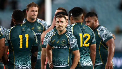 Player ratings: Did any of the Wallabies stand up in a record loss?