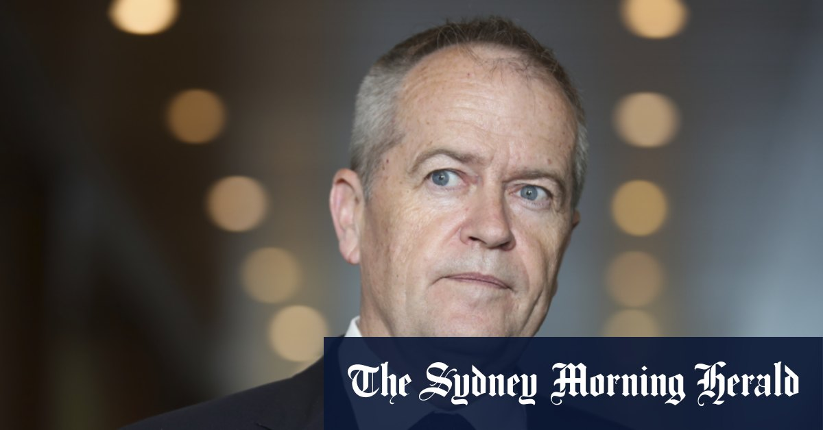 Shorten blasts Greens' call for national security cuts, rules out power-sharing deal