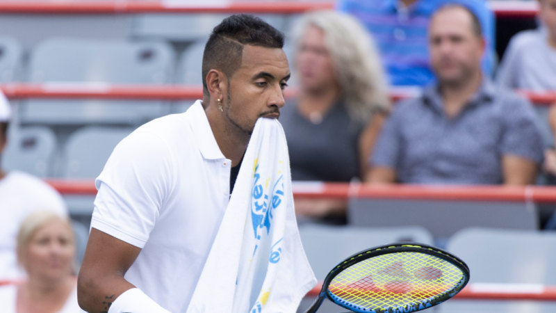 'You're a tool, bro': Kyrgios loses his cool in Cincinnati
