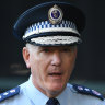 NSW Police Commissioner Mick Fuller talking tough to 'get people to turn on'