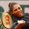 'A runaway train': Serena Williams wins opener in Paris, Millman bows out