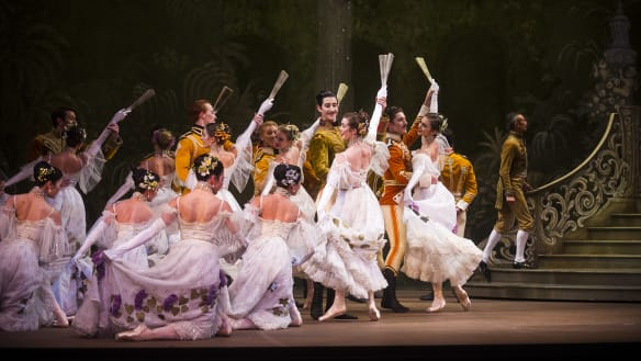 Canberra ballerinas enjoy family time as 'The Merry Widow' arrives in the capital