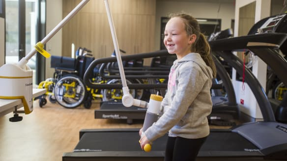 Canberra public catches tour of new rehab hospital