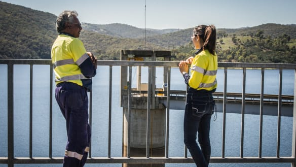 Canberra Now: it'll be hot but water will flow; and Canberra gets tidy