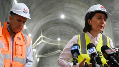 Driving under the stars in the tunnel: NorthConnex to open in less than two weeks