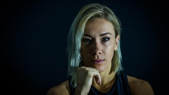 Caroline Buchanan gets triple-strength plate in chest after setback