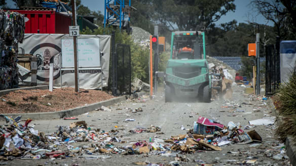Hume recycling centre's handling 'disappointing', says ACT opposition