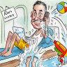 Catalano runs pandemic-hit empire from Wategos Beach