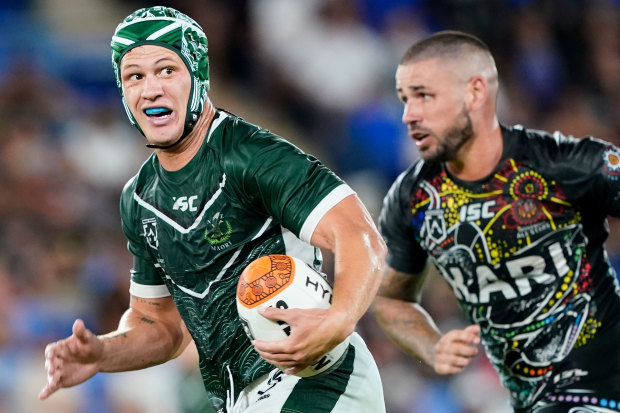 Kalyn Ponga represented the Maori All Stars on the weekend and has spoken of his desire to play for the All Blacks.