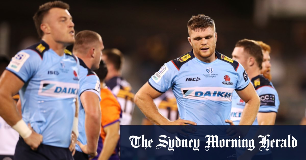 'I'm not going to stand in the way': Waratahs collapse to another record defeat – Sydney Morning Herald