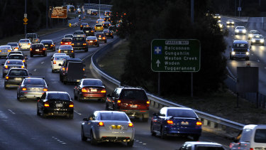 "The government has vowed to ""bust"" congestion but large parts of the package won't be spent for more than four years."