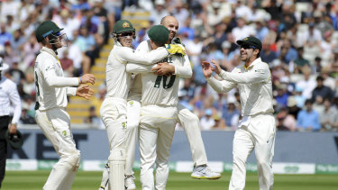 Australia has won the first Ashes Test in Edgbaston.