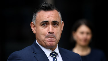 Nsw Deputy Premier John Barilaro Considers A Tilt At Federal Politics