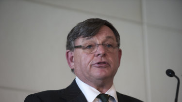 AACo chairman Donald McGauchie.
