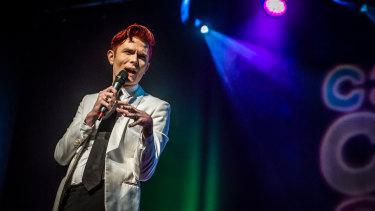 Comedian Rhys Nicholson in 2019