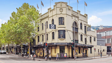 The Quarryman's Hotel in Pyrmont was sold by the Laundy Family for $12 million.