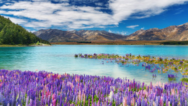 Lake Tekapo and the Southern Alps: New Zealand has long marketed its pristine natural wonders.