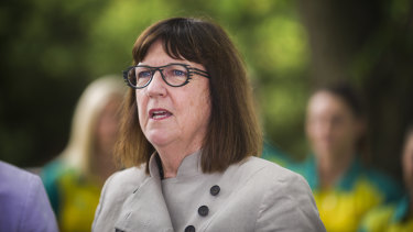 Former Sport Australia boss Kate Palmer said she was surprised by the colour-coded spreadsheet.