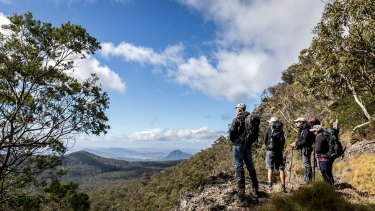 Spicers Scenic Rim Trail will take visitors through a five-day hike to stay at eco-cabins along the way.