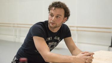 British choreographer Liam Scarlett is an artistic associate of Queensland Ballet.