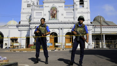 Sri Lanka has blocked access to social media to prevent the further violence following a series of explosions around the country.