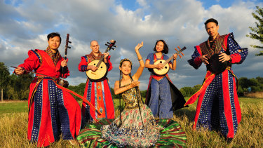 A Moving Sound combines Silk Road musical history with edgy contemporary artistry.