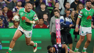 Joey Leilua has returned from a career-threatening spinal injury to be on the cusp of a second grand final appearance.
