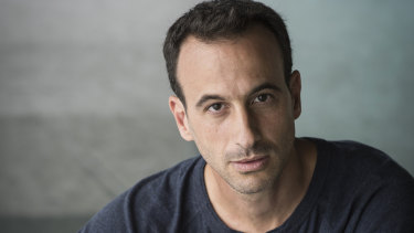 "Acclaimed choreographer Hofesh Shechter: life in Israel was one of ""constant hysteria""."