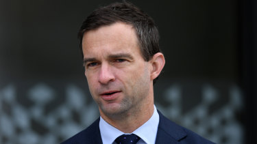 New Brisbane Broncos CEO Dave Donaghy.