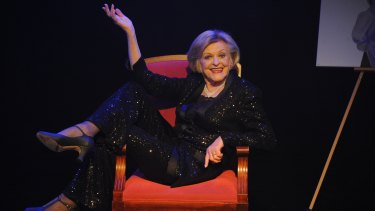 Nancye Hayes proved her star power hasn't dimmed in her one-woman show Hayes at the Hayes.