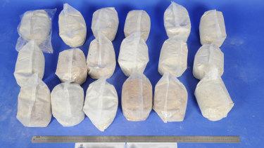 MDMA, weighing 356 kilograms, detected at a Sydney air cargo facility.