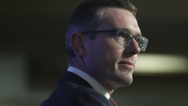 NSW Treasurer Dominic Perrottet has repeatedly backed the board of the troubled insurer icare.