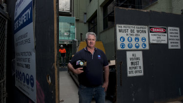 CFMEU national construction division secretary Dave Noonan is one of the forces behind the campaign.