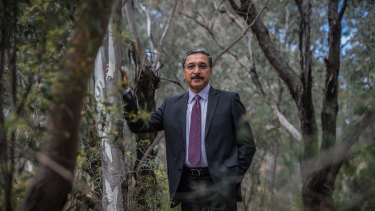 Vice-chancellor Deep Saini is hoping to lead the University of Canberra out of the woods, after losing almost $2 million in federal funding this year and bigger reductions on the horizon.