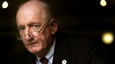 Former National Party leader and deputy prime minister Tim Fischer, pictured in 2013.