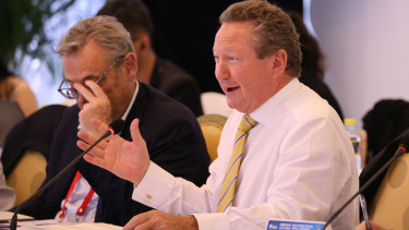 Fortescue chief Andrew Forrest talking about his impression of Chinese President Xi Jinping's keynote speech at the Boao forum.