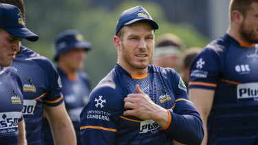 Caution: David Pocock will slip the Brumbies' Super Rugby trip to Argentina.