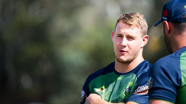 Canberra Raiders player Luke Bateman wants a long-term deal.