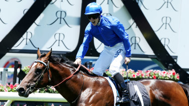 James McDonald aboard Astern on the day he had a bet placed for him by Anthony Gardiner.