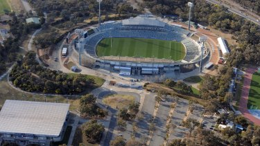 Sport Australia is considering selling Canberra Stadium and the AIS Arena.