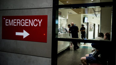 Health workers say there has been a spike in people presenting to emergency departments with mental health issues.