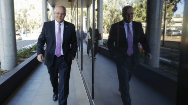 Prime Minister Scott Morrison in Canberra on Monday, April 1.