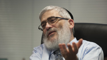 Rabbi Joseph Gutnick in 2013.