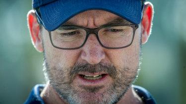 Dan McKellar is the new Wallabies forwards coach.